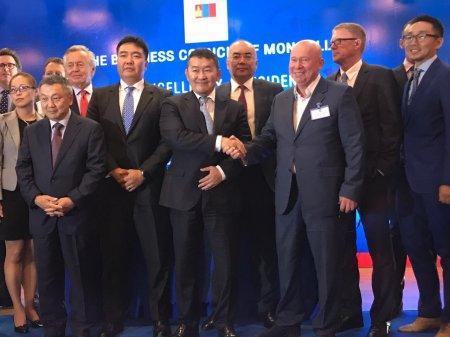 Заседание Делового Совета Монголии с Президентом Монголии